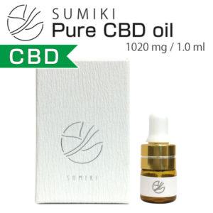 SUMIKI Pure CBD Oil 1020mg 1.0ml