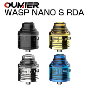 OUMIER WASP NANO S Dual-Coil RDA